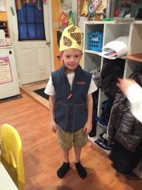Z's safari outfit