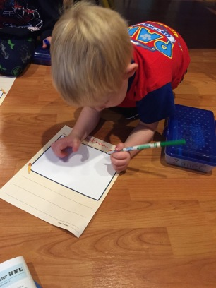 illustrating a story