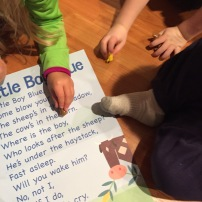 Finding words in a story